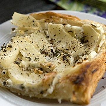Rezept Feuilleté mit Birnen und Ziegenkäse