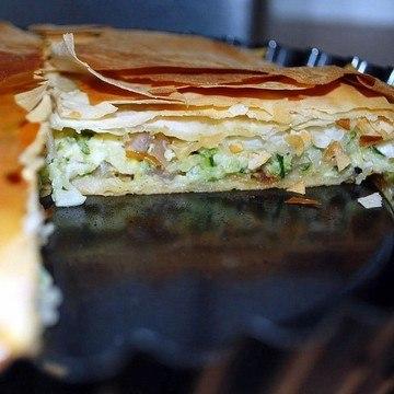 Rezept Filo-Zucchini-Kuchen