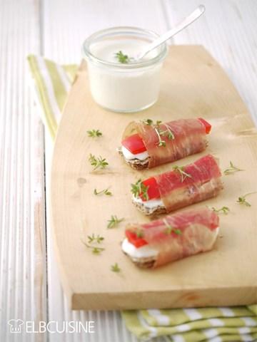 Rezept Fingerfood-Knäcke-Snack