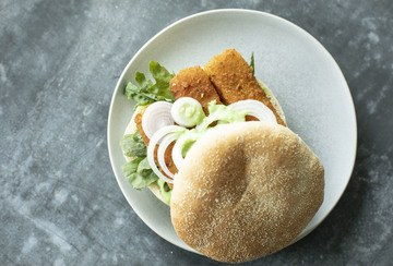 Rezept Fischstäbchen Burger