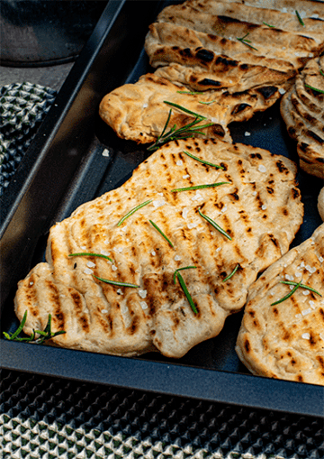 Rezept Fladenbrote vom Grill