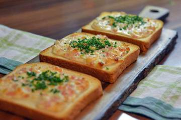 Rezept Flammkuchen-Toast