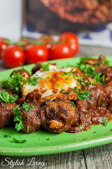 Rezept Fleischbällchen-Tajine mit Tomatensauce