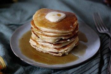 Rezept Fluffige Quark-Pfannkuchen