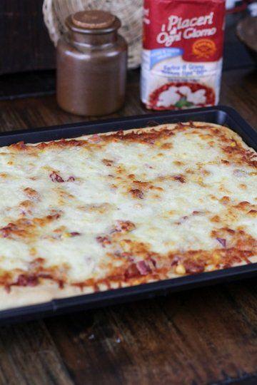 Rezept Fluffiger Pizzateig selber gemacht