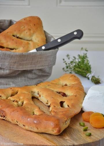 Rezept Fougasse mit Pistazien