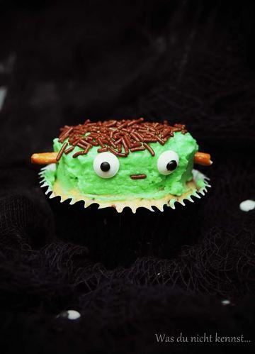 Rezept Frankenstein-Bananen-Cupcakes