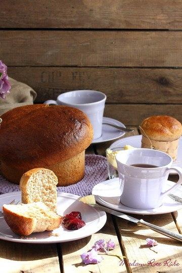 Rezept Französisch vanillige Vollkorn-Brioche
