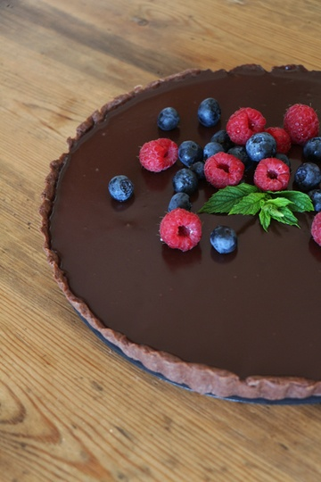 Rezept Französische Schokoladentarte