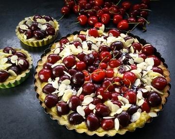 Rezept Französisches Kirschkuchen Rezept Kirschtarte