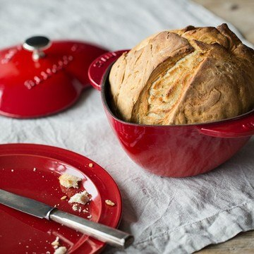 Rezept Französisches Weißbrot aus dem Bräter