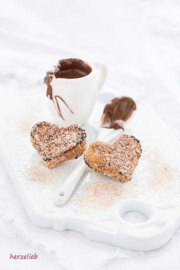 Rezept French-Toast-Herzen