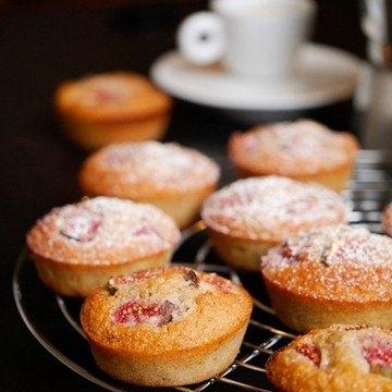 Rezept Friands mit Mandeln und Feigen