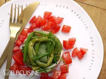 Rezept Frischer holländischer Matjes mit Spargel-Kräuter-Salat