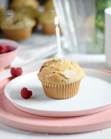 Rezept Frischkäse-Himbeer Muffins