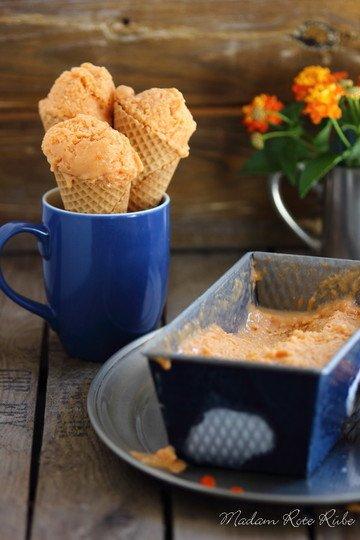 Rezept Frozen Honig-Aprikoseneis mit Buttermilk