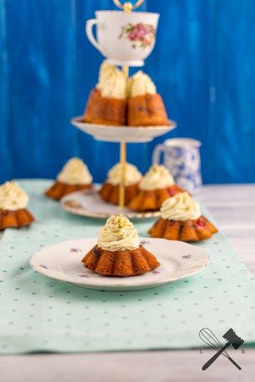 Rezept Früchtchen Küchlein mit Kürbis-Mascarpone Creme