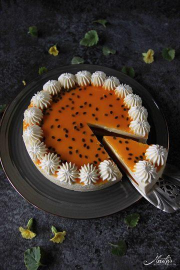 Rezept Fruchtig leichter Maracuja Cheesecake