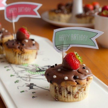 Rezept Fruchtig-Schokoladige Yogurette-Muffins