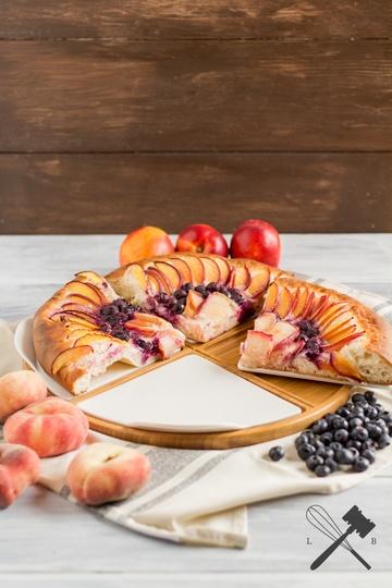 Rezept Fruchtige Dessert Pizza