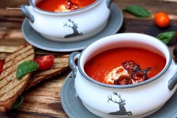 Rezept Fruchtige Tomatencremesuppe