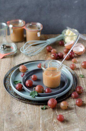 Rezept fruchtiges und cremiges Stachelbeer-Curd