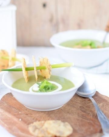 Rezept Frühlingszwiebelsuppe