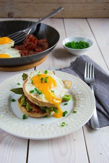 Rezept Frühstück-Spargel-Burger