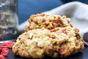 Rezept Frühstücks Cookies mit Quinoa