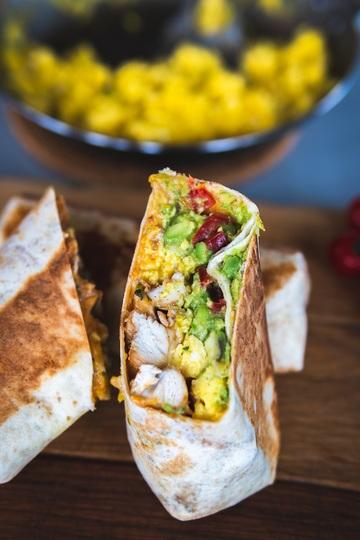 Rezept Frühstücksideen: ein Burrito zum Verlieben.