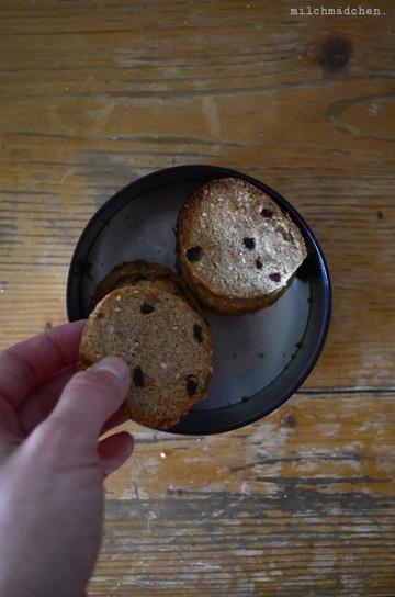 Rezept Frühstückskekse mit Sauerteig