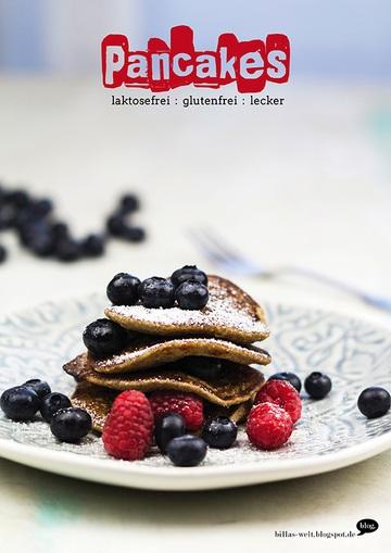 Rezept Frühstückspancakes, glutenfrei, lakosefrei und lecker