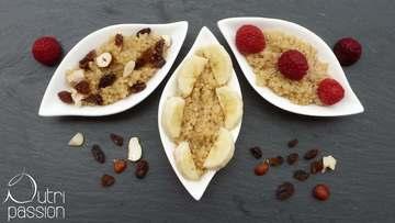 Rezept Frühstücksvariationen mit Quinoa