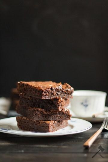"Rezept ""fudgier-than-fudge"" Brownies"