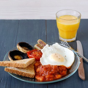 Rezept Full English Breakfast