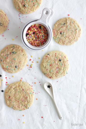 Rezept Funfetti Cookies