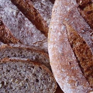 Rezept Fünfkornbrot nach Jeffrey Hamelman / Five-Grain-Levain