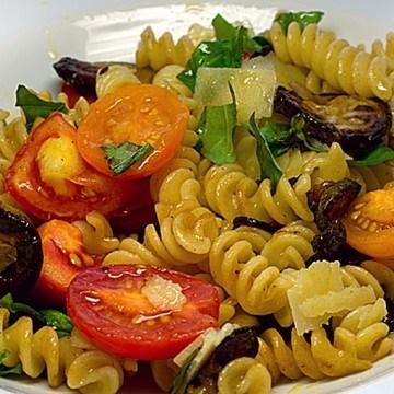 Rezept Fusilli mit bunter Tomatensauce