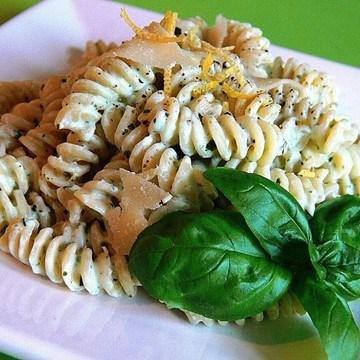 Rezept Fusilli mit Ricotta und Zitrone