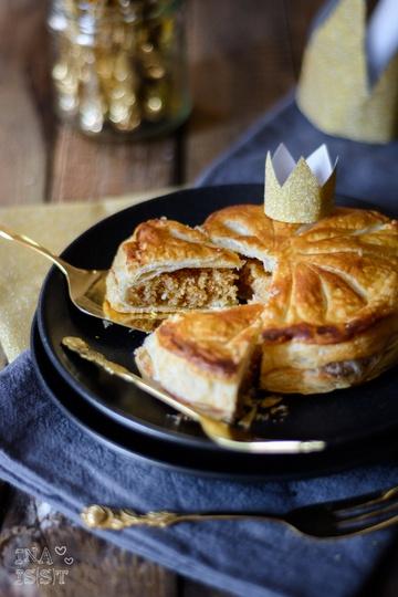 Rezept Galette des Rois - Französischer Königskuchen mit Mandelfüllung