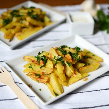 Rezept Garlic Fries
