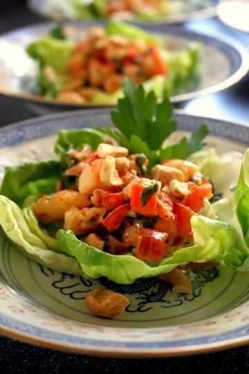 Rezept Garnelen Salat