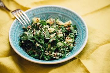 Rezept gartenfrischer Sommersalat