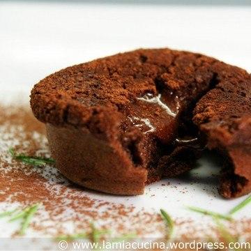 Rezept Gâteau chocolat mit Olivenöl und Rosmarin