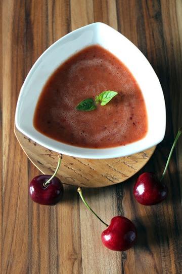 Rezept Gazpacho mit Kirschen