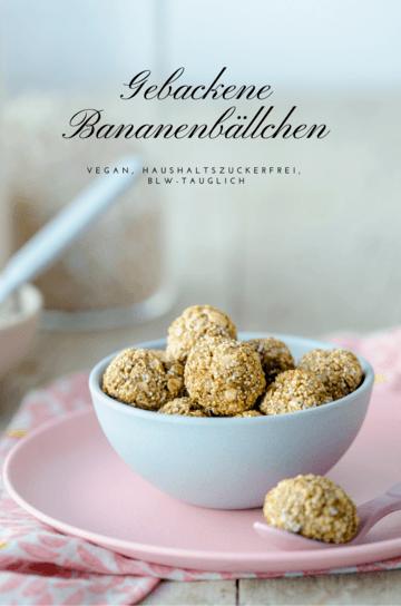 Rezept Gebackene Banenbällchen