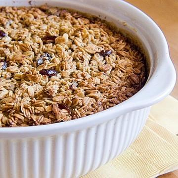 Rezept Gebackene Frühstückshaferflocken