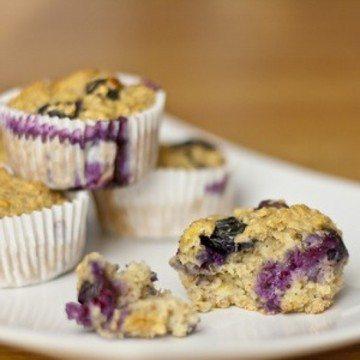Rezept Gebackene Hafer Muffins
