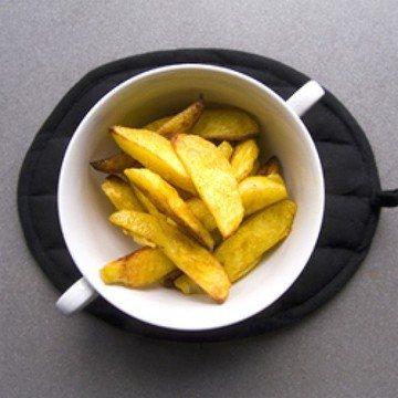 Rezept Gebackene Kartoffeln mit Curry