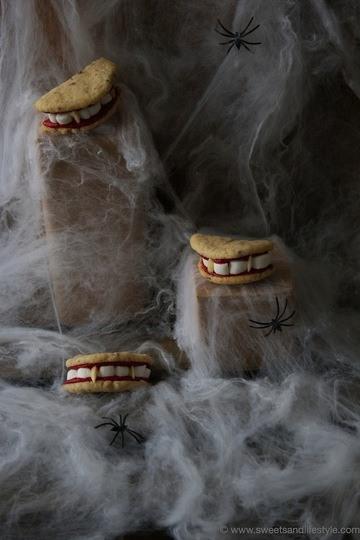 Rezept Gebisscookies für Halloween